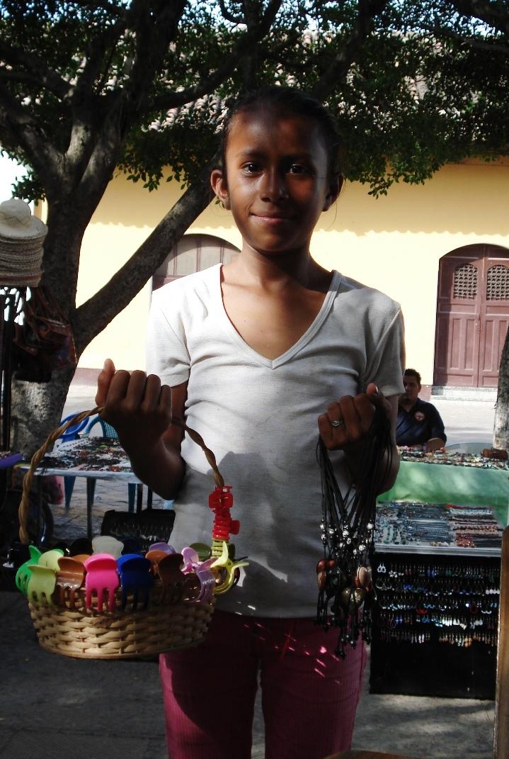 girl selling – granadanicaragua