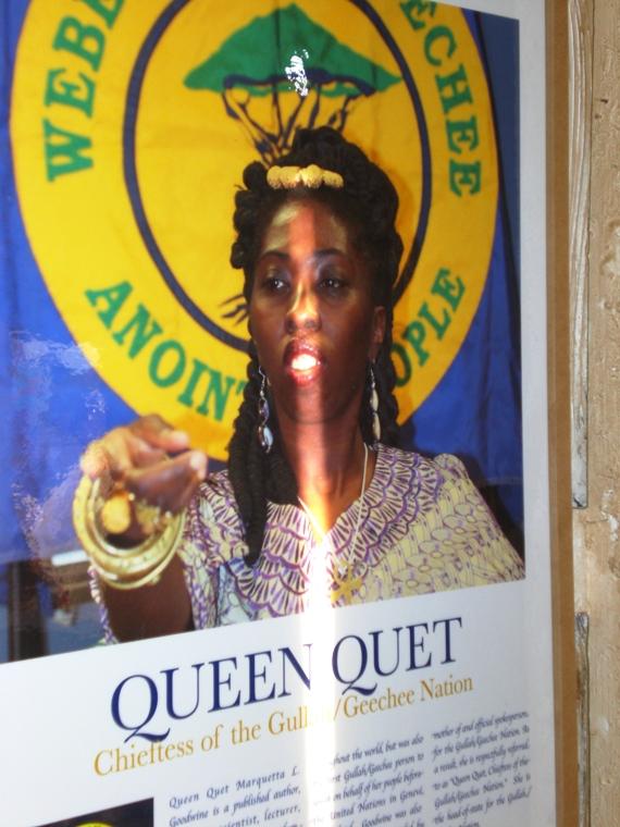 Queen Quet -  Chieftess of the GullahGeechee Nation