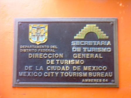 secretaria de turismo zona rosa mexico city