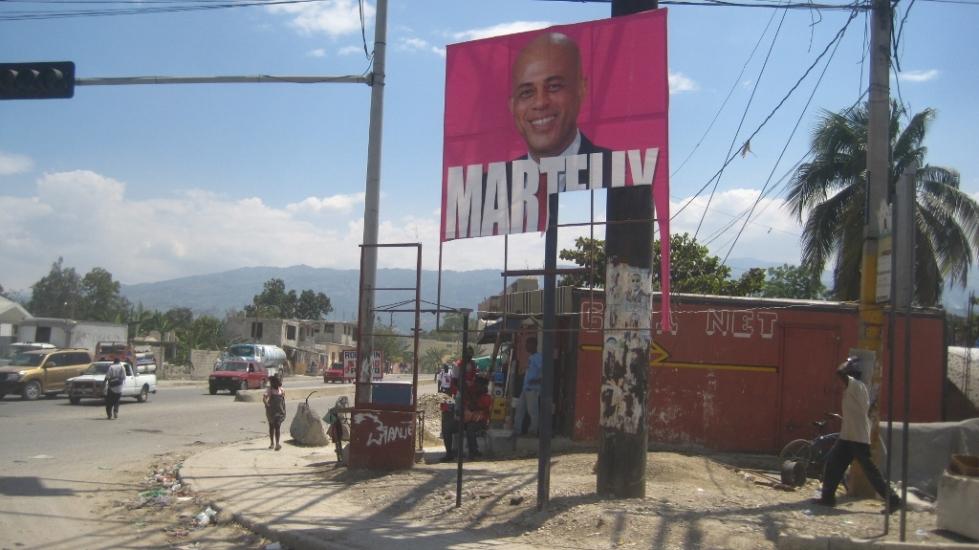 michel martelly - 1st crackhead president?