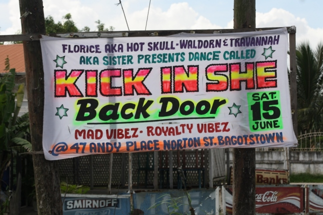 kick in she back door - guyana endorses sexual violence
