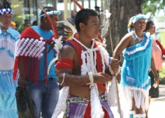 caifesta XI - suriname indigenous people at fort zeelandia (5)