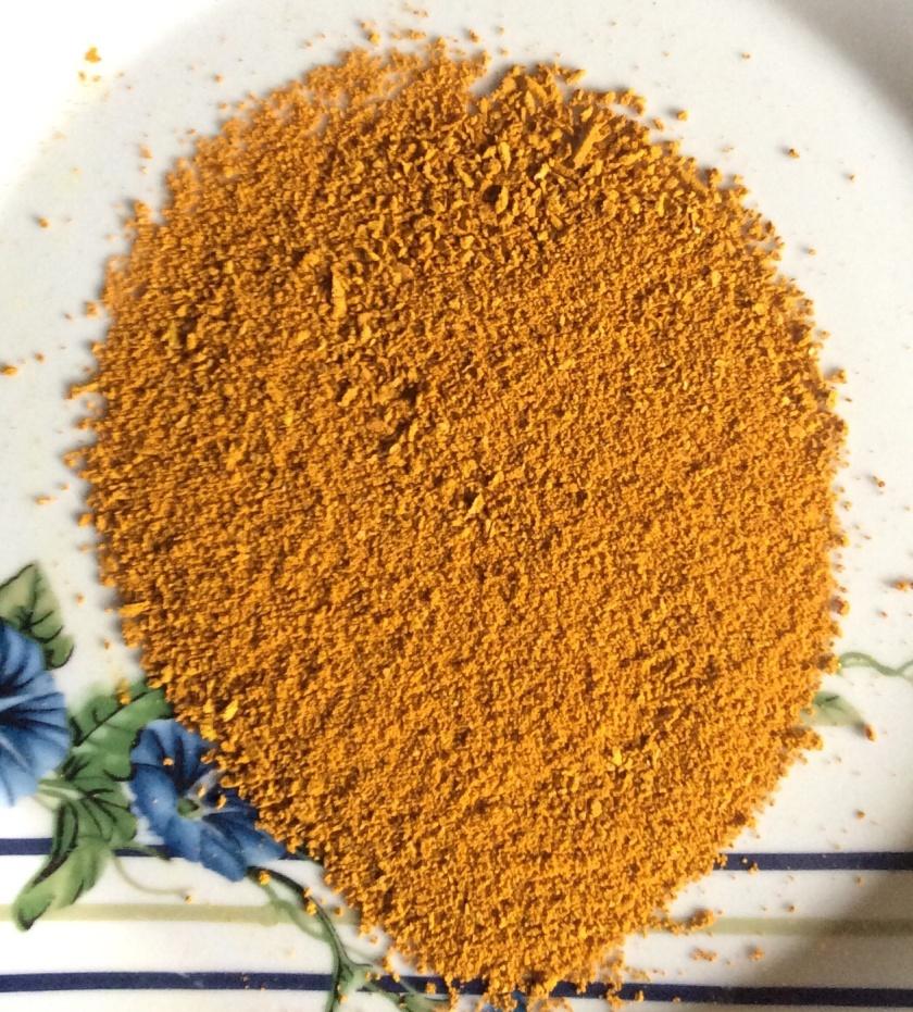 Turmeric powder made in Guyana