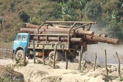 bai shan lin truck