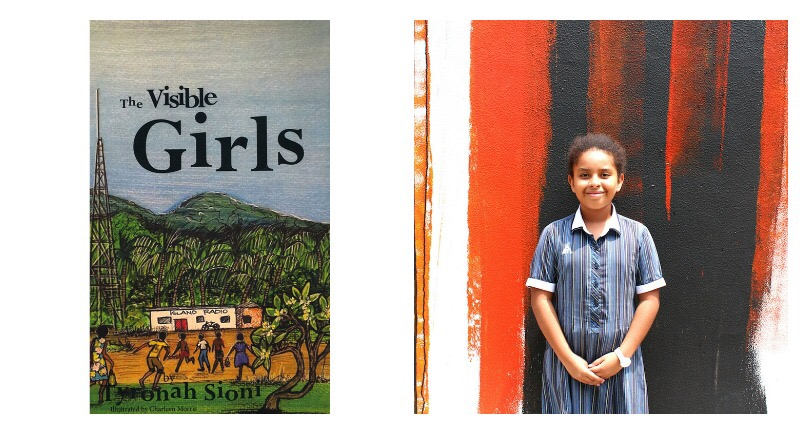9yr old Papua New Guinean Tyra Sioni Award Winning Author & UN Ambassador