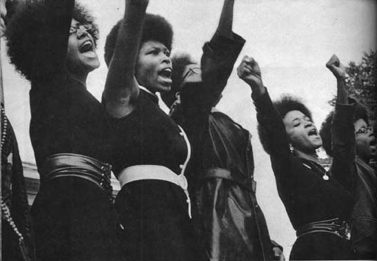 women of the black panter party