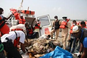 guyana police dumping cocaine in atlantic