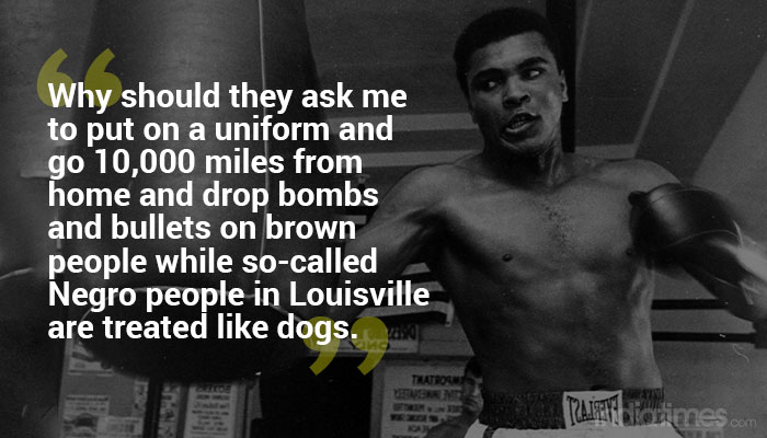 No Viet Cong never Called Me Nigger – Mohammed Ali