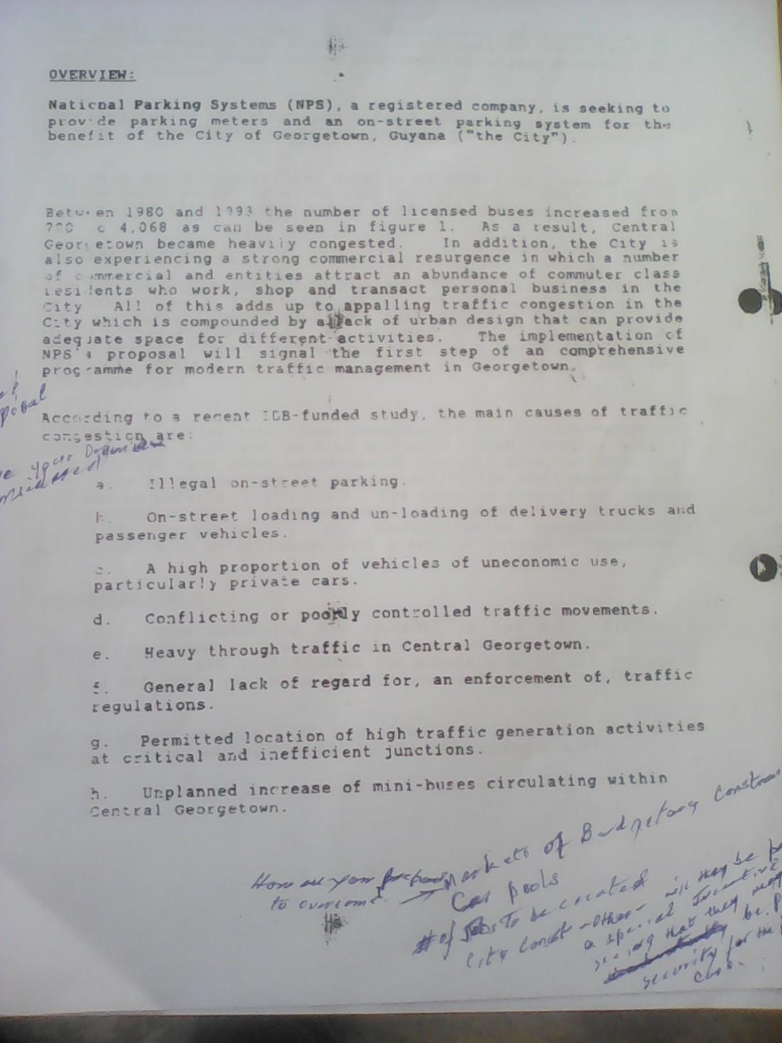 ifa kamau cush proposal to city hall page 1