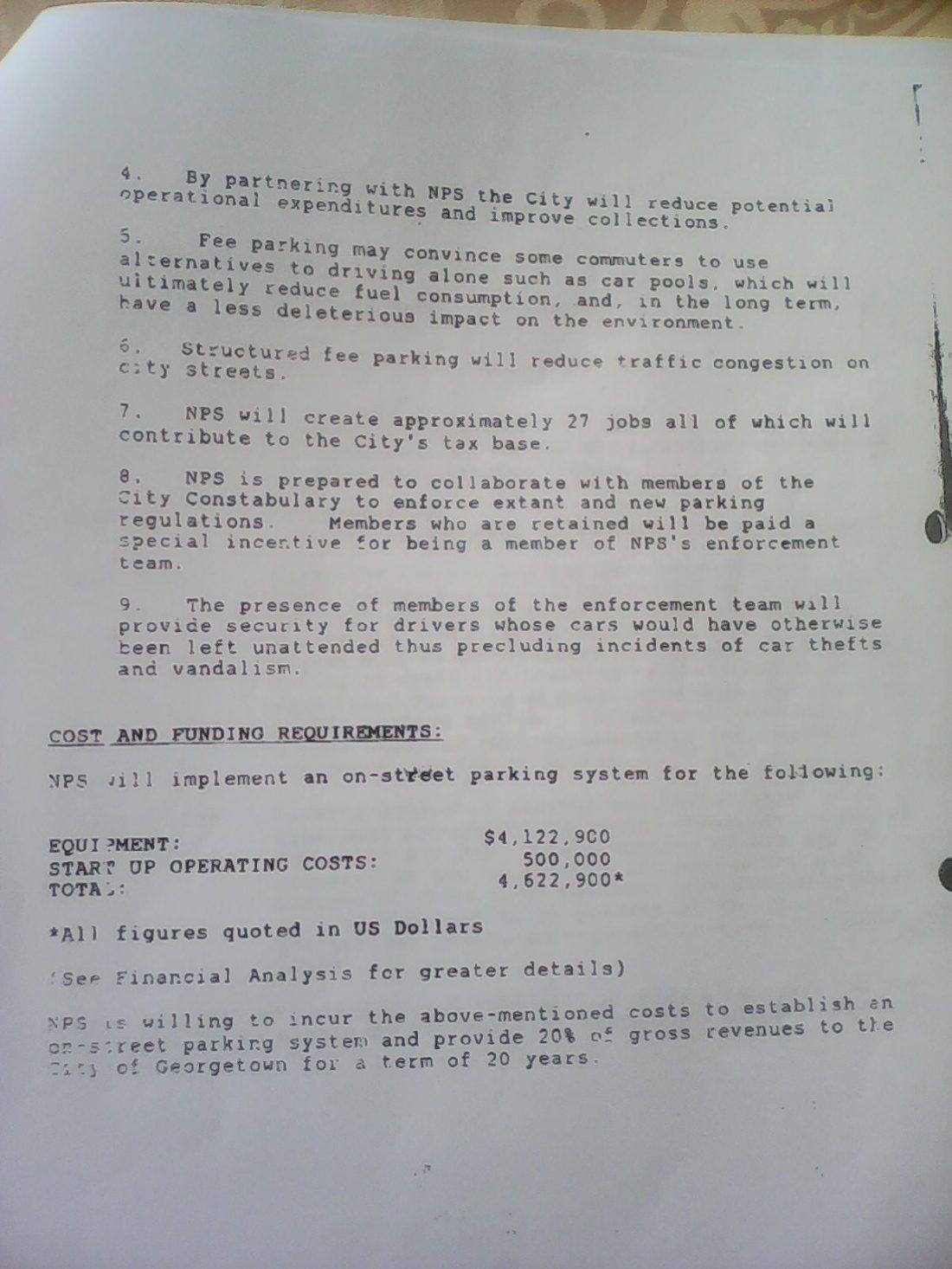 ifa kamau cush proposal to city hall page 4