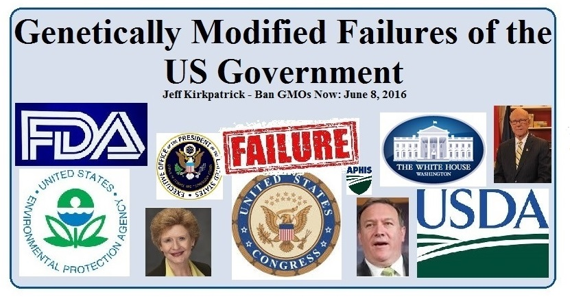 Genetically Modified Failures of the US Government (v4)