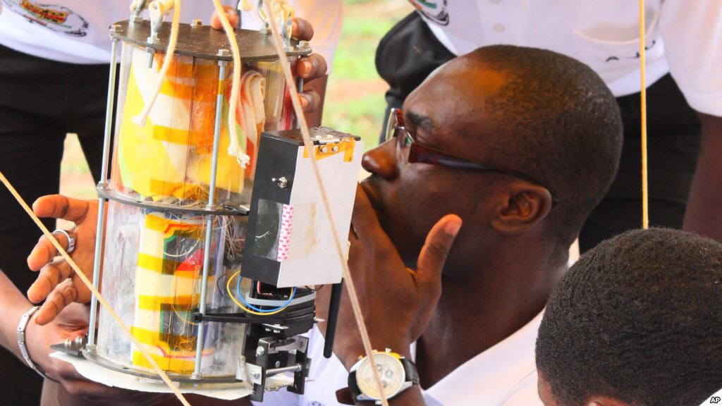 Ghanaian engineers satellite in orbit – Ghanasat-1