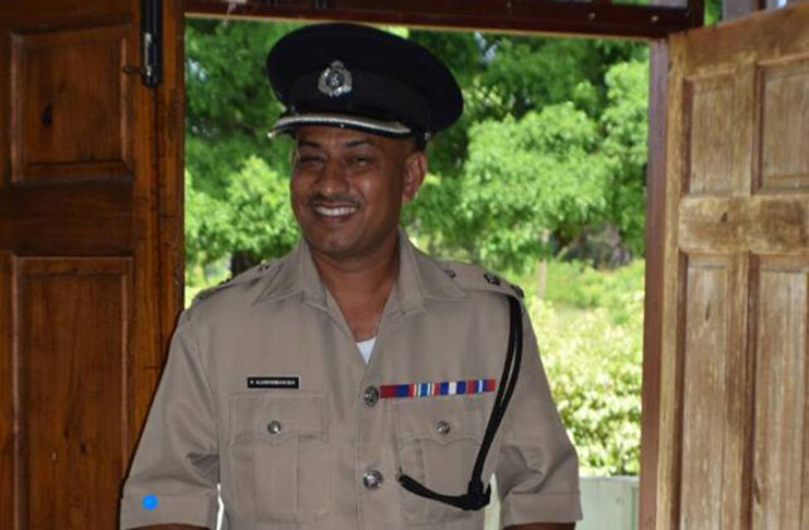 Guyana Police Officer Commander Fazil Karimbaksh is a sexualpredator
